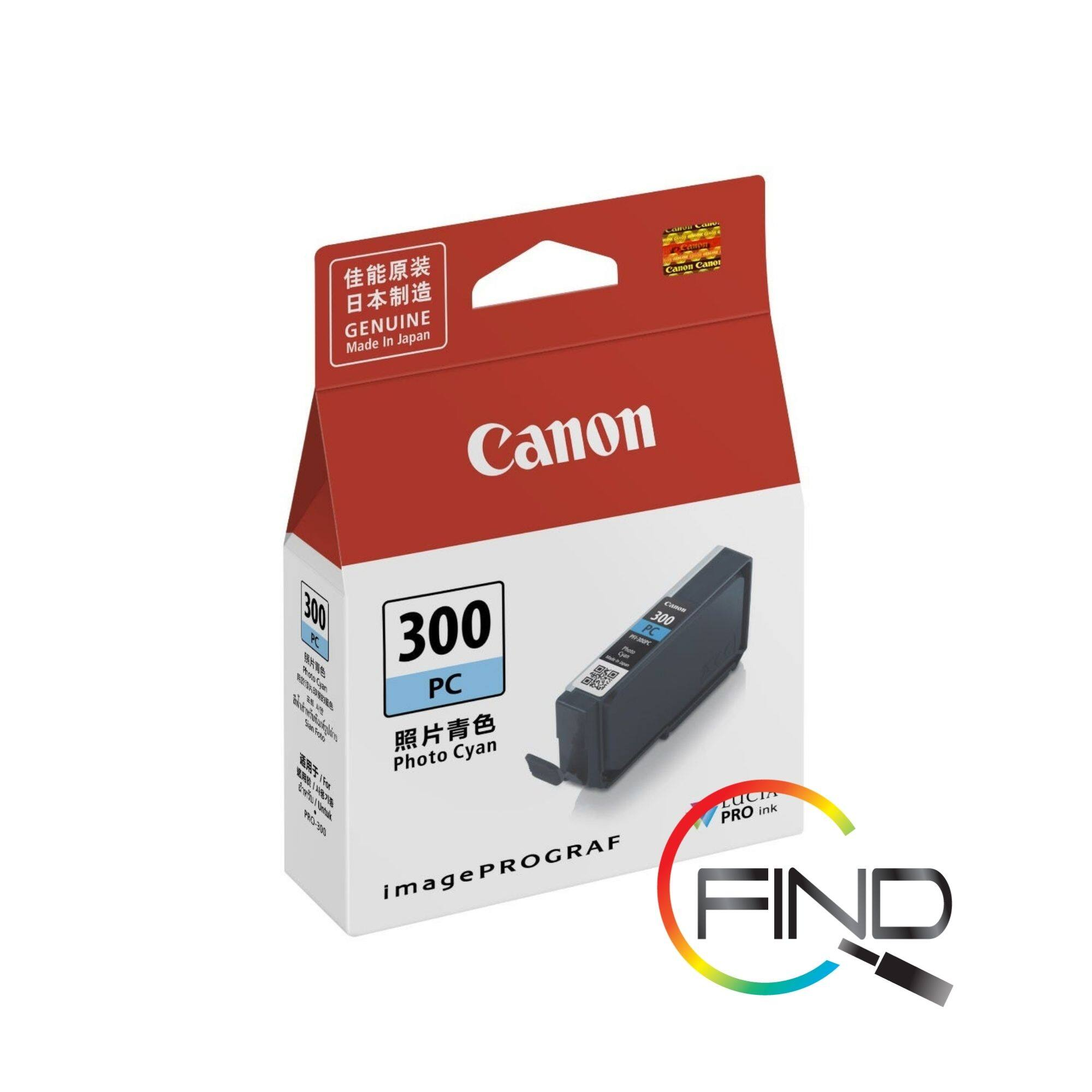 Canon PFI-300 Photo Cyan Cartridge (14.4 ml) for PRO-300 Printer