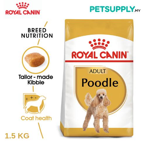 Royal Canin Dry Dog Food Poodle Adult 1.5Kg [makanan anjing - PETSUPPLY.MY]