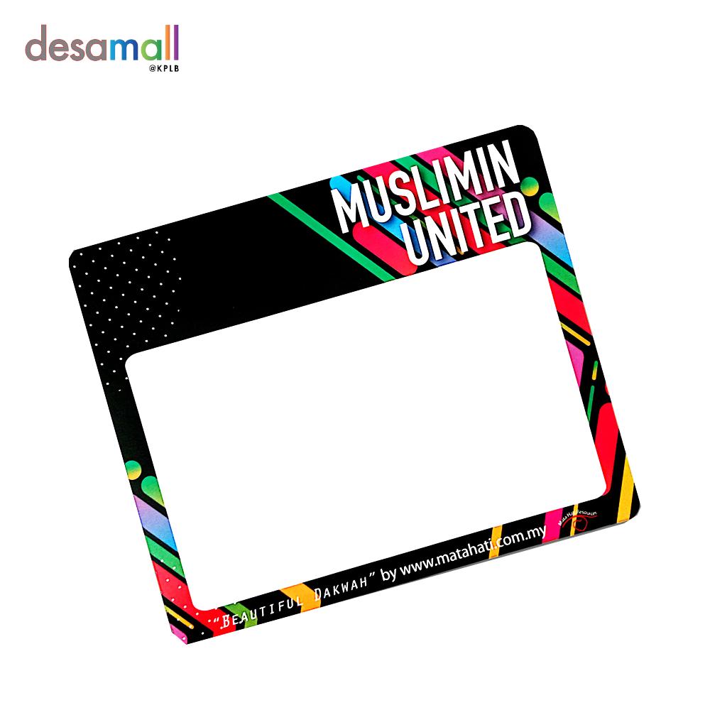 MATA HATI Roadtax Sticker (134mmx160mm) - Muslimin United