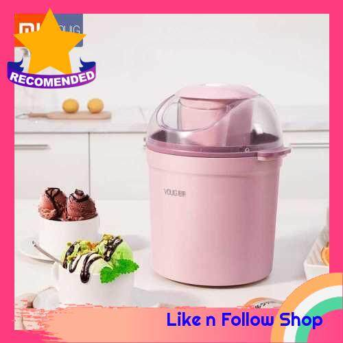 Xiaomi Youpin YOULG Ice Cream Maker 0.8L/12W Home Automatic 800ML Ice Cream Machine Electric Frozen Yogurt Machine With Built-in Cooling System 220V (Standard)