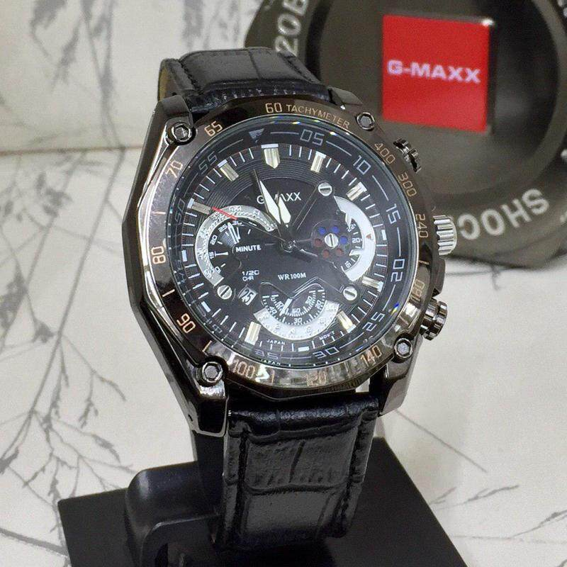 Special Promotion Sport G-MAXX Analog Time Display Fashion Casual Watch For Men Ready Stock 100% Mineral Glass New Design