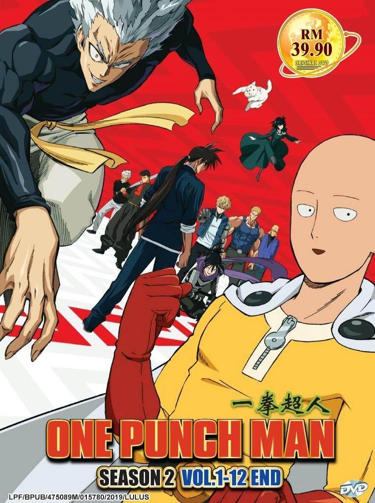 One Punch Man Season 2 Vol.1-12 End Anime DVD