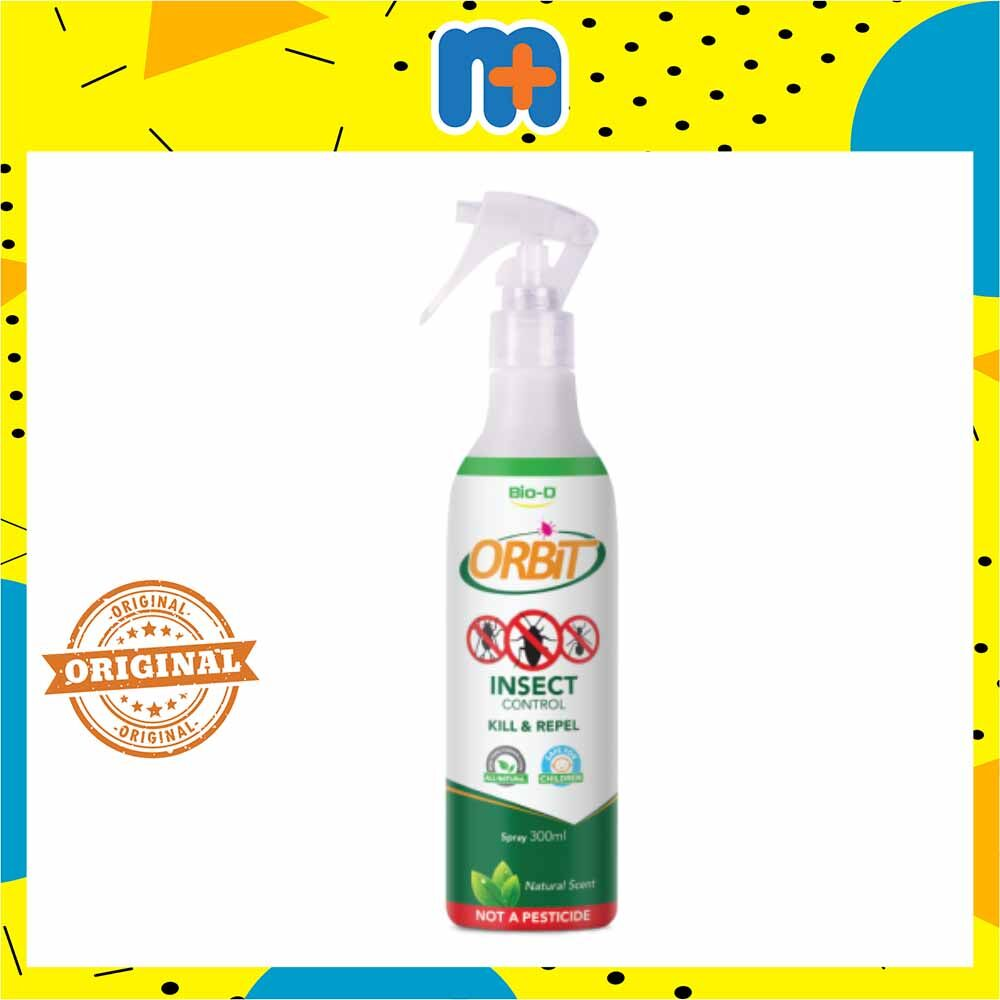 [MPLUS] BIO-D ORBIT INSECT CONTROL SPRAY NATURAL 300ML