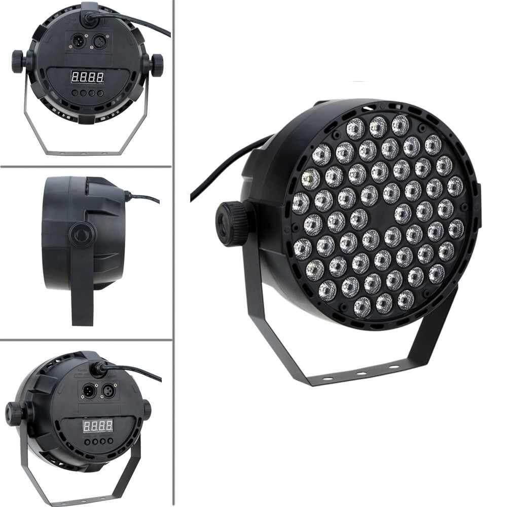 Lixada 54W 54LEDs DMX-512 RGBW Strobe Professional Stage PAR Light