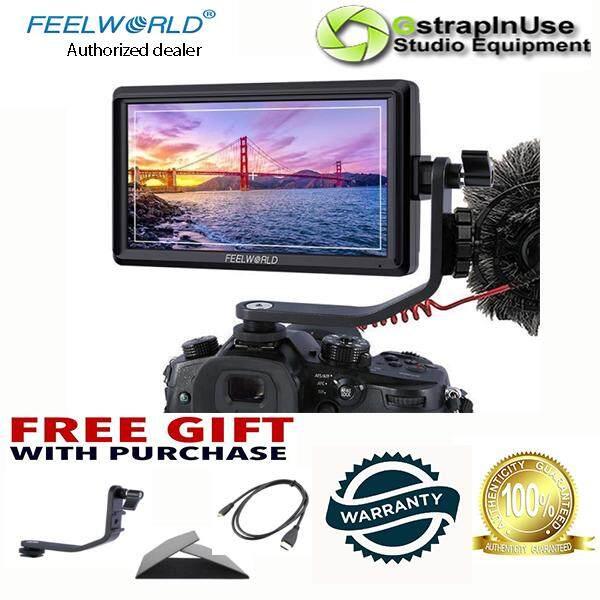 FEELWORLD FW568 5.5 Inch 4K DSLR Camera Field Monitor IPS Full HD 1920×1080 Support HDMI Input Output Tilt (Local Warranty)