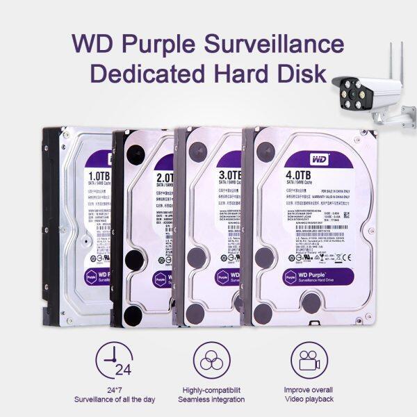 Giá Western Digital WD Tím Giám Sát HDD 1TB 2TB 3TB 4TB SATA 6.0 Gb/giây 3.5 Ổ Cứng Cho Camera CCTV AHD DVR IP NVR