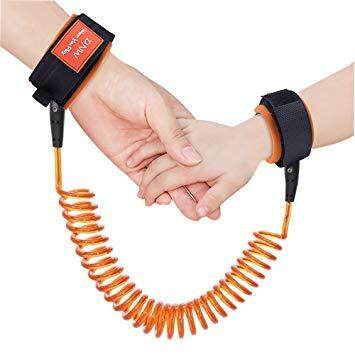 360 Degree Anti Lost Wrist Link Toddler Leash Safety Harness for Baby Strap Rope Outdoor Walking Hand Belt Band Anti-lost Wristband Kids(1.5M)