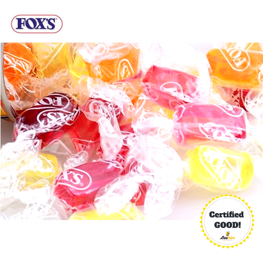 Fox's Crystal Clear Candy 2pcs Only [Halal]