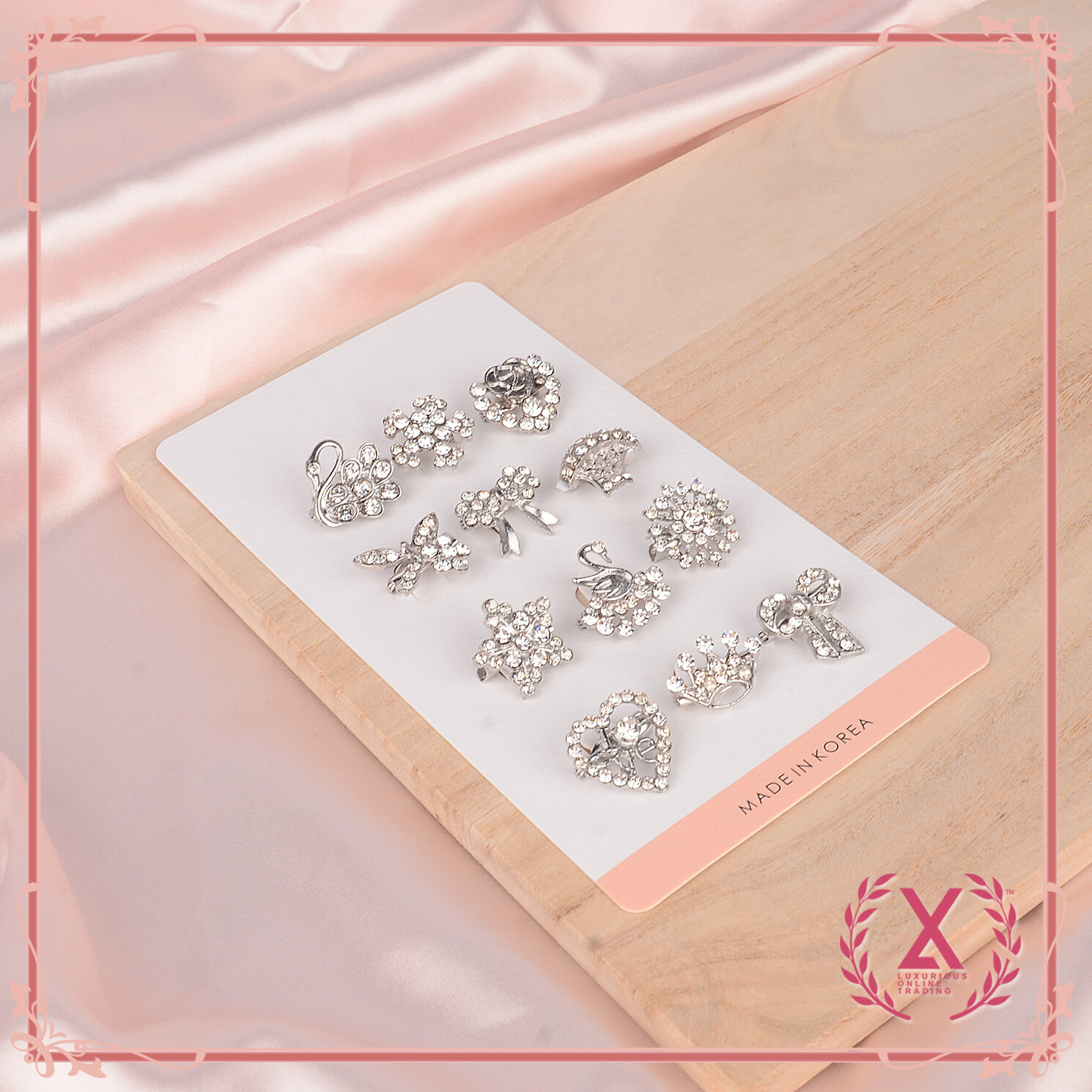 LUXURIOUS 12 PCS [ EXCLUSIVE ] KOREA BABY BROOCH  . KERONGSANG