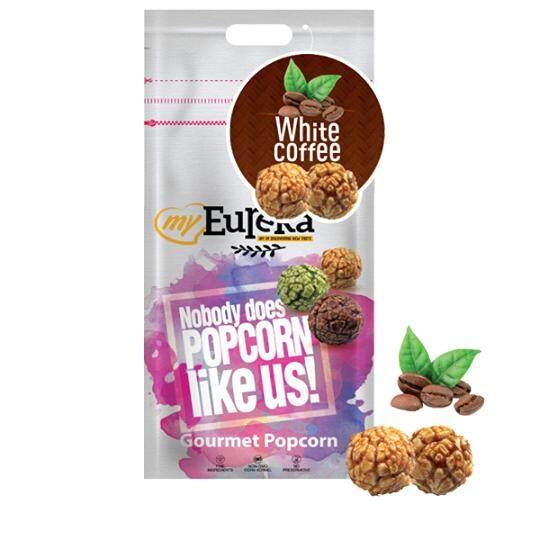 Eureka White Coffee Popcorn Snack (Aluminium Pack)