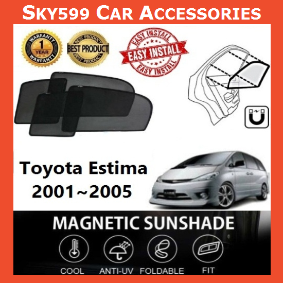 Toyota Estima 2001-2005 Magnetic Sunshade ?6pcs?