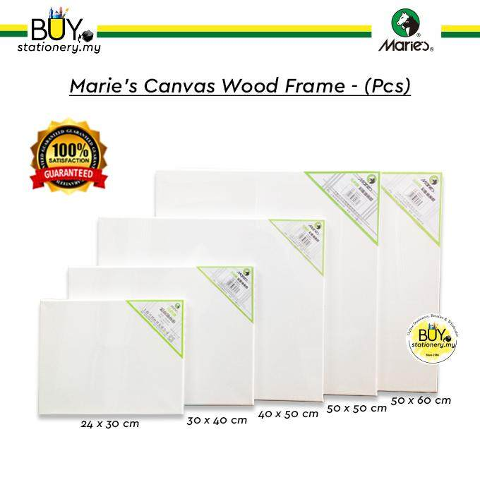 Marie's Canvas Wood Frame - (PCS)