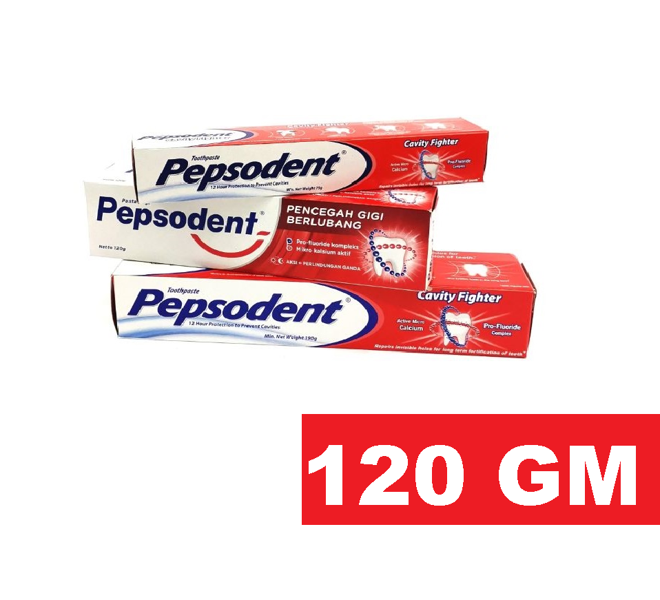 PEPSODENT CAVITY FIGHTER TOOTHPASTE 120 GM