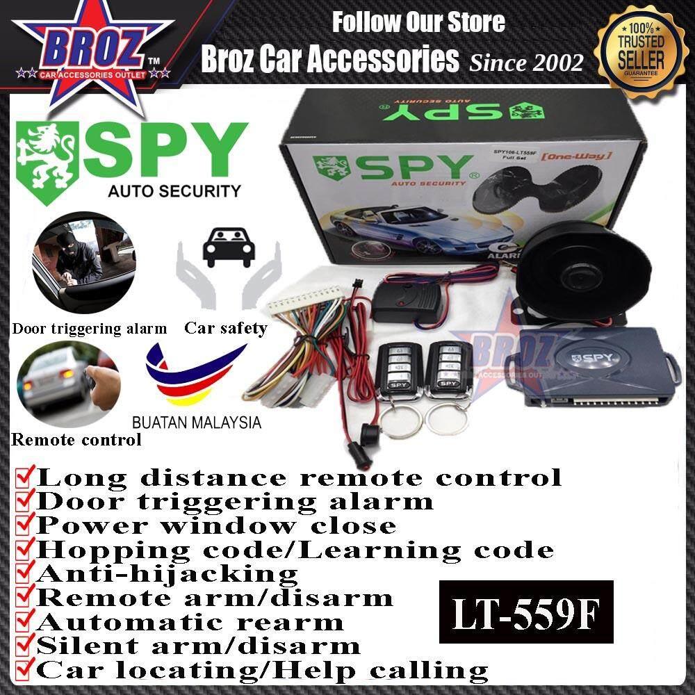 SPY One-way Auto Security Car Alarm System SPY106-LT559F Full Set