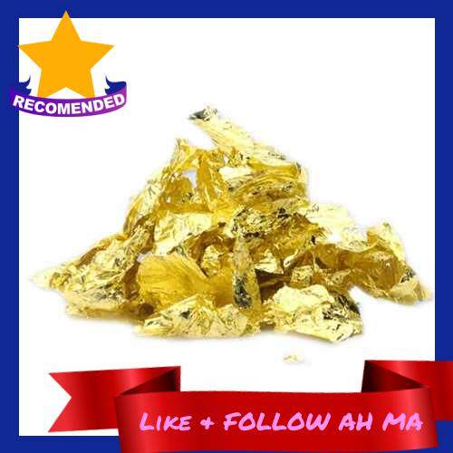 Best Selling 24K Gold Flakes Edible Food Decorating Foil Paper Cuisine Mousse Cake Baking Pastry Art Craft Decor (1)
