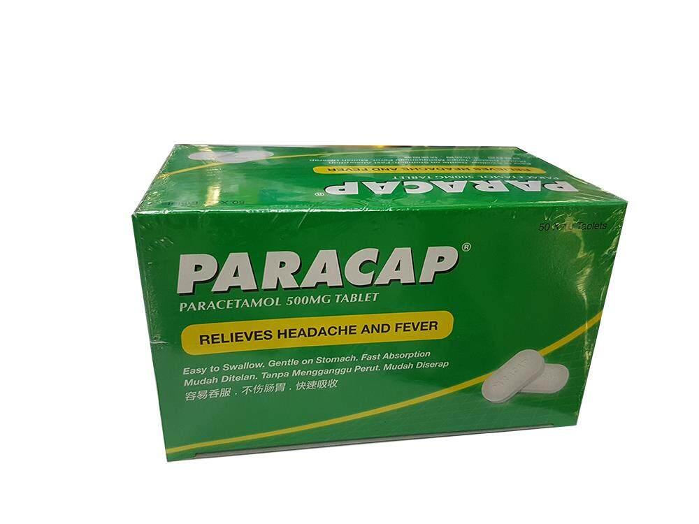 PARACAP 500MG 10SX50