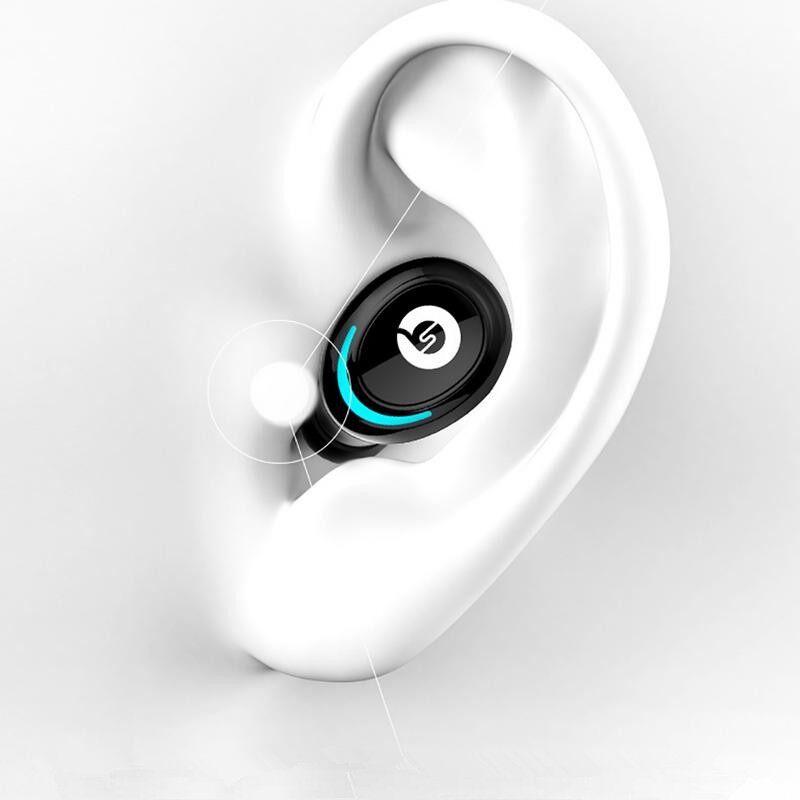 On-Ear Headphones - AIR01 BLUETOOTH 5.0 True WIRELESS Earphone Binaural Call Handsfree - WHITE / GREY / BLACK