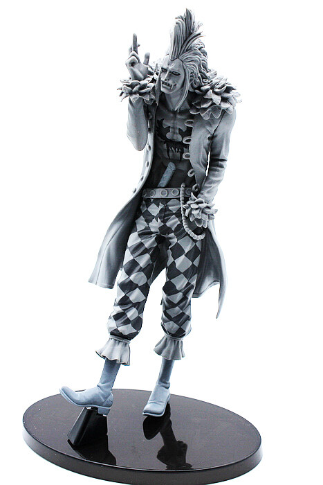 One Piece Bartolomeo 4 Black & White SCultures vol. 5 Banpresto Action Figure Without Box