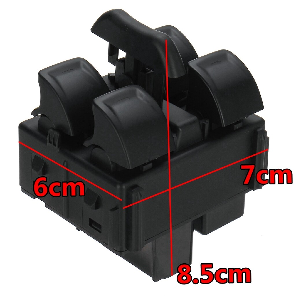 Car Electronics - Center Control ABS Electric Power Window Switch For Jeep Wrangler 2011-2017 - Automotive
