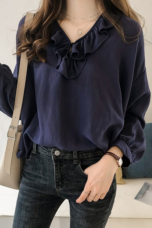 JYS Fashion Korean Style Women Long Sleeve Blouse or Top Collection 535- 3278