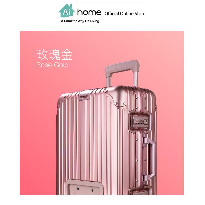 ARTVZ ALS Auto Smart Suitcase [ Smart Travel ] (Pink) with 1 Year Malaysia Warranty [ Ai Home ] ARTVZ ALS Suitcase