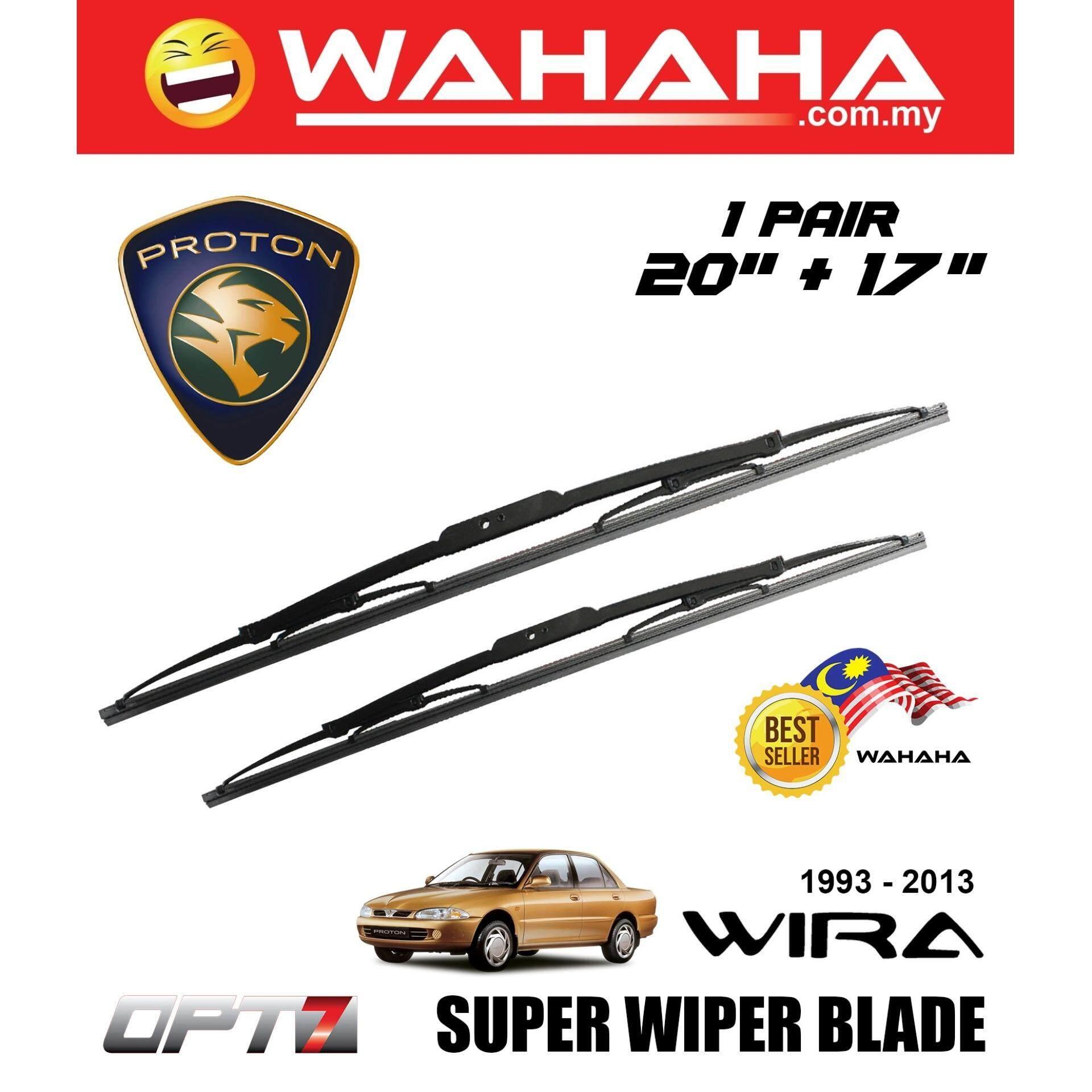 PROTON WIRA OPT7 Car Window Windshield Super Wiper Blade 20 +17