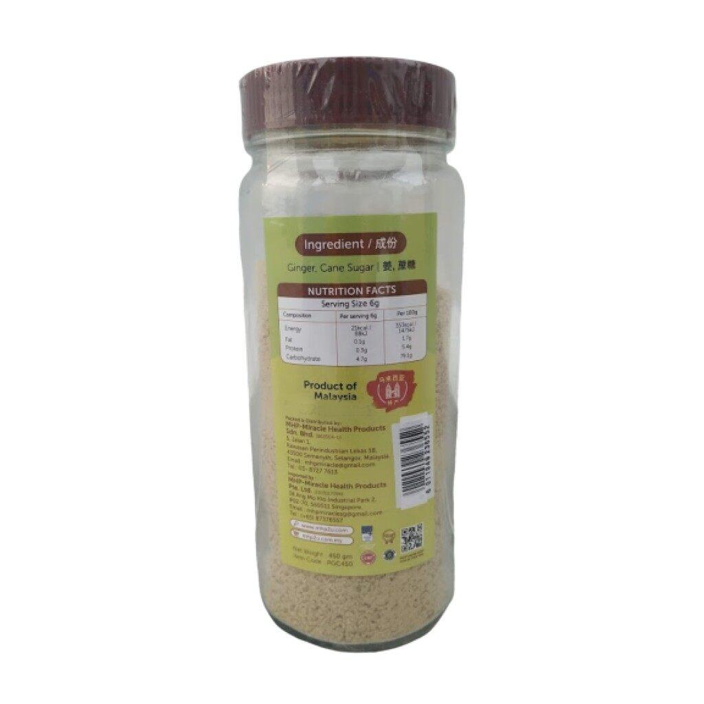 MHP Miracle Natural Bentong Ginger Powder with Cane Sugar 450gm