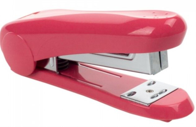 MAX Stapler HD-50 (rounded handle) Pink