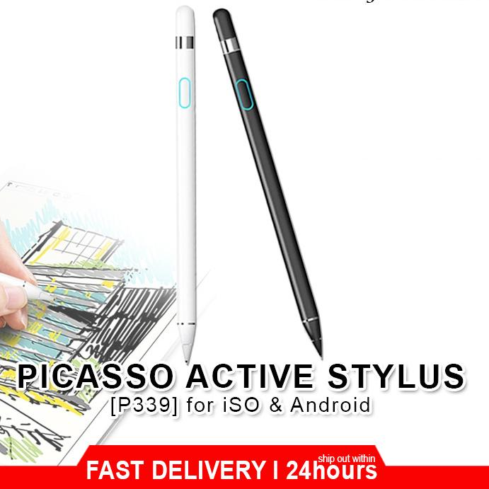 [Miboo] Wiwu P339 iPad / Tablet Picasso Active Stylus Touch Pen Special for Designer / Painter / Architect / Interior Design Support in iPad Pro / iOS / Android