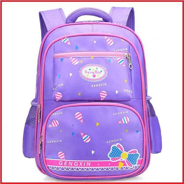 Gengxin Purple Ultra Light Kids Primary School Bag
