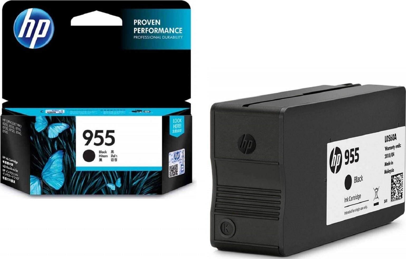 HP 955 LOS60AA Black Original Ink Cartridge