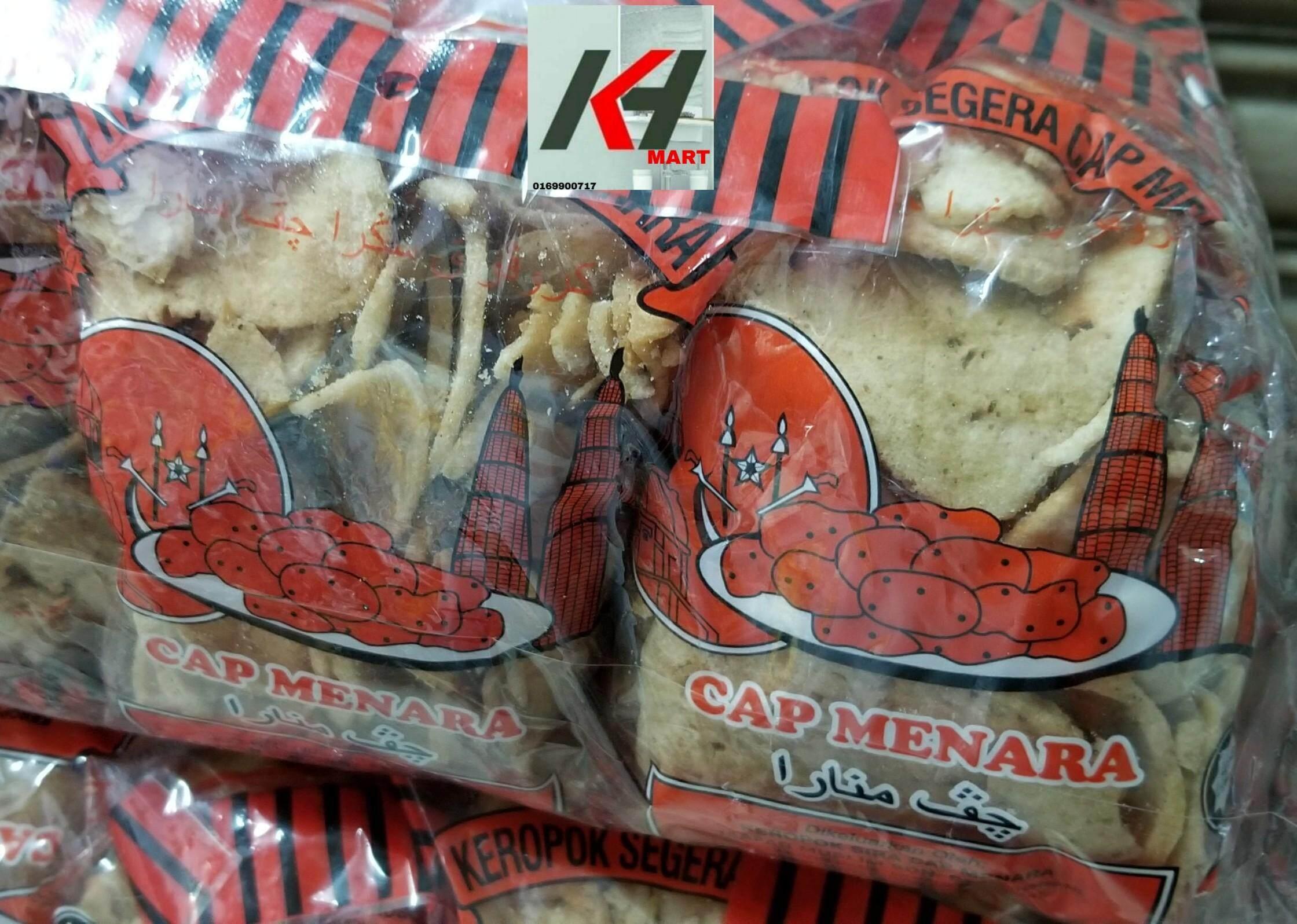KEROPOK SIRA MAS MADU  BERPERISA CAP MENARA   BIASA READY STOCK