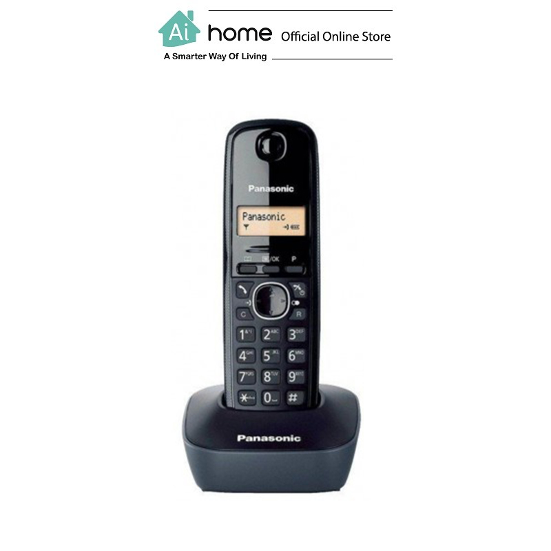 PANASONIC KX-TG1611MLH Digital Cordless Phone with 1 Year Malaysia Warranty [ Ai Home ] PKXB