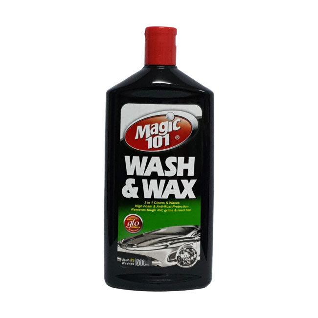 Magic101 Car Wash and Wax 500ml