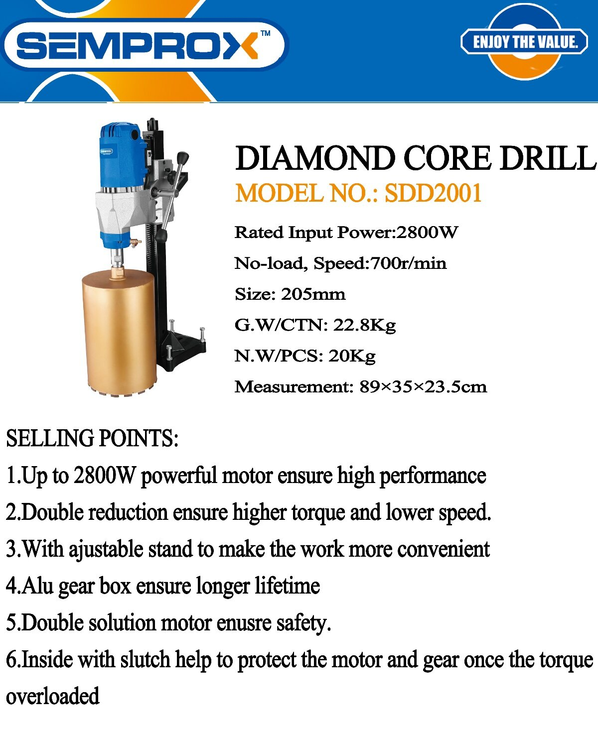diamond core coring drill level lift jack power tool motor electric wire machine concrete rock stone sand wall metal stand bit drilling grinder grinding set drive handle hold holder holding cut cutter cutting high press strong wall concrete rock