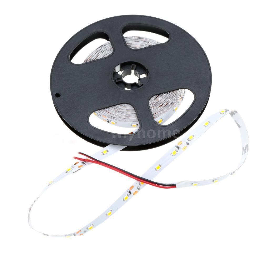 Lighting - LED Warm White Strip Light SMD 3528 Flexible Light 60LEDs/m 5m/lot 12V for Bar Hotel - Home & Living