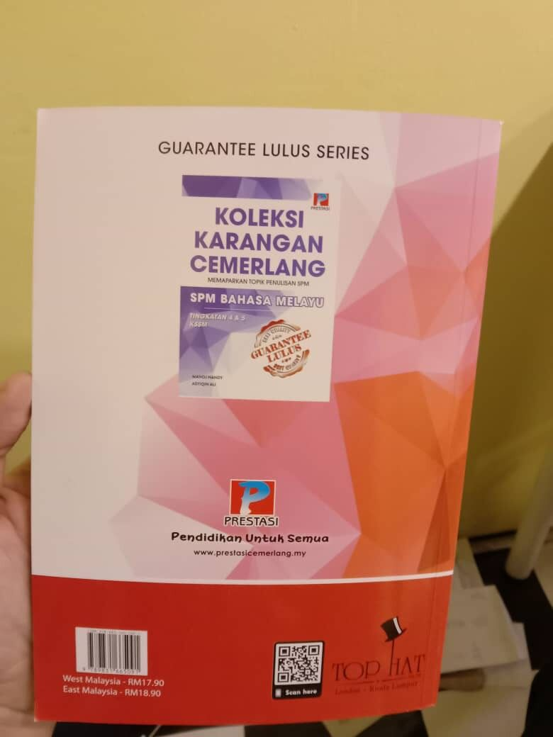 Best Selling Guarantee Lulus: Essay Writing Guide SPM English With 60 Comprehensive Model Essays NEW 2020 (Ready Stock)