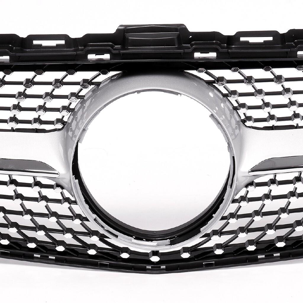 Automotive Tools & Equipment - AMG Diamond Grill Grille For Mercedes Benz C180 C200 C250 C300 C350 W205 2015-18 - Car Replacement Parts