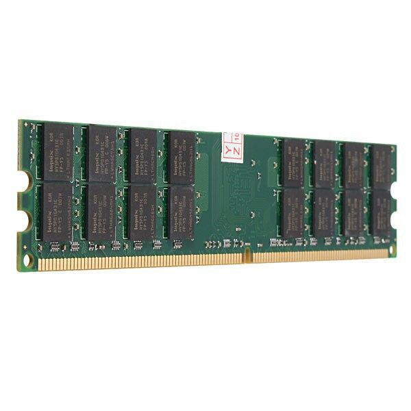 Cool Gadgets - 4GB DDR2 800MHZ PC2-6400 240 PINS DESKTOP PC DIMM MEMORY RAM AMD MOTHER - Mobile & Accessories