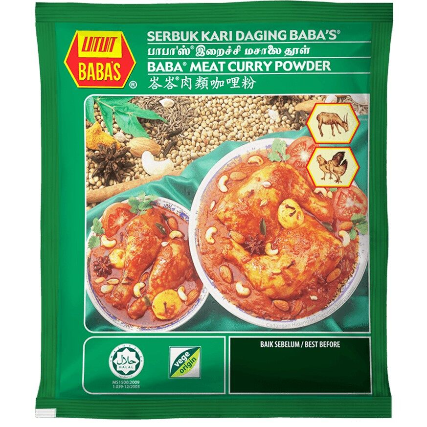 Babas Meat Curry 125g