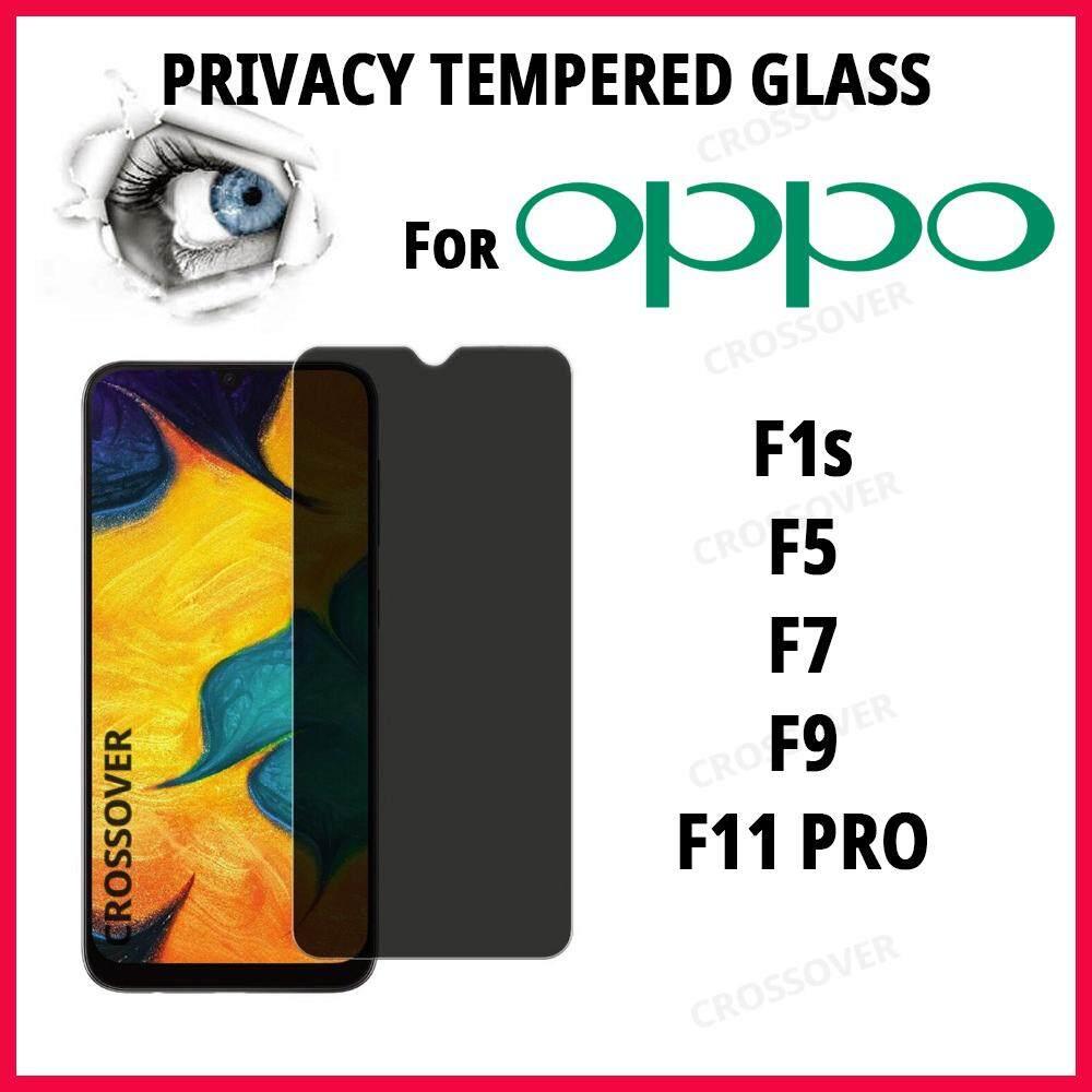 OPPO F11 Pro / F9 / F7 /F5 / F1S Privacy Tempered Glass Anti-Spy