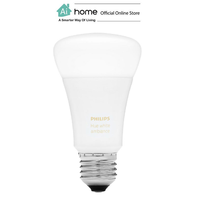 PHILIPS HUE Light Bulb E27 16 millions Color with 2 Year Malaysia Warranty [ Ai Home ]