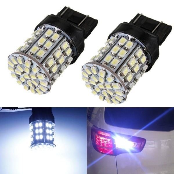 Car Lights - T20 7443 64 SMD 1206 LED Tail Turn Brake Backup Reverse Light - Replacement Parts