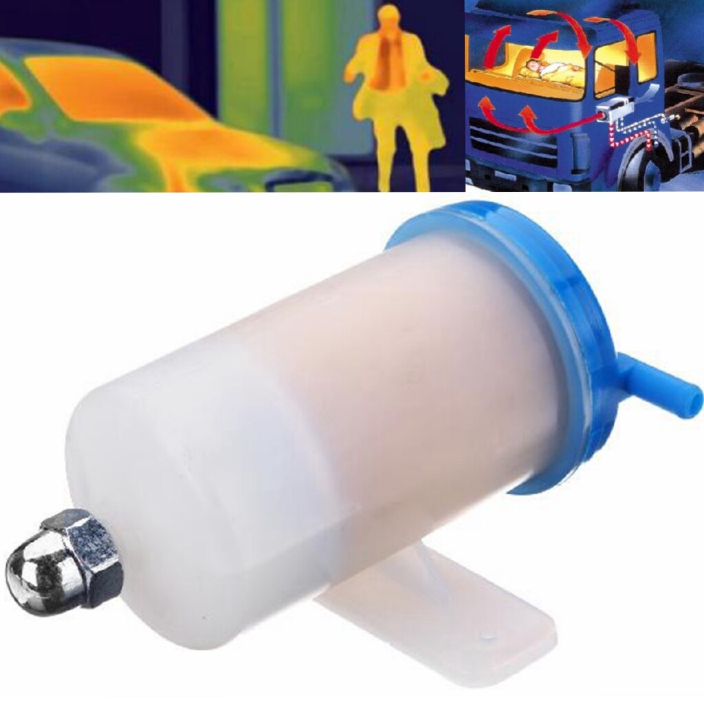 Automotive Tools & Equipment - RV Car Truck Air Parking Heater Tank Diesel Oil Fuel Filter Universal Separator - Car Replacement Parts
