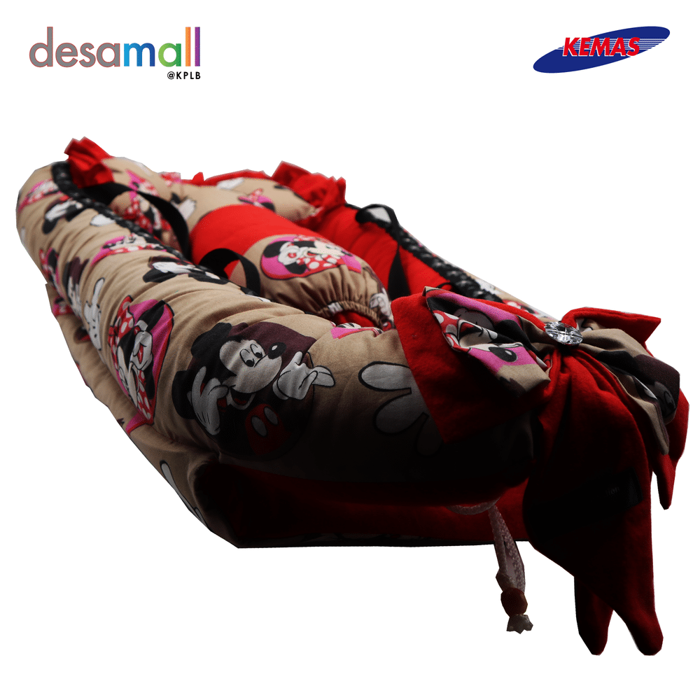 D'HAS COLLECTION Baby Nest Selesa - Mickey Mouse