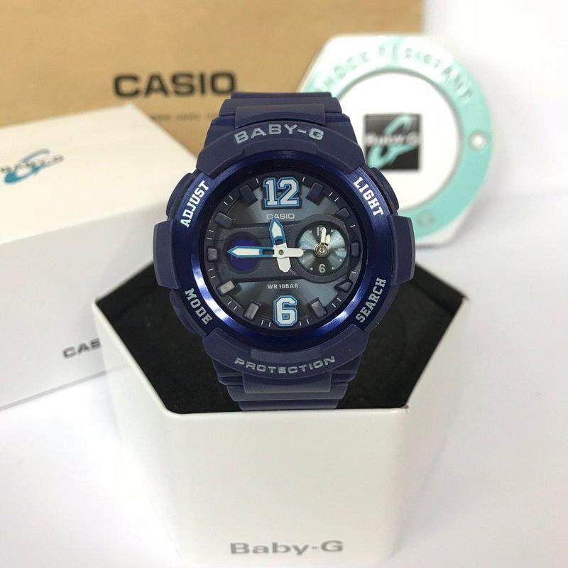 Baby_new Dual time display Series Standard Resin Band Watch LIMITED STOCK