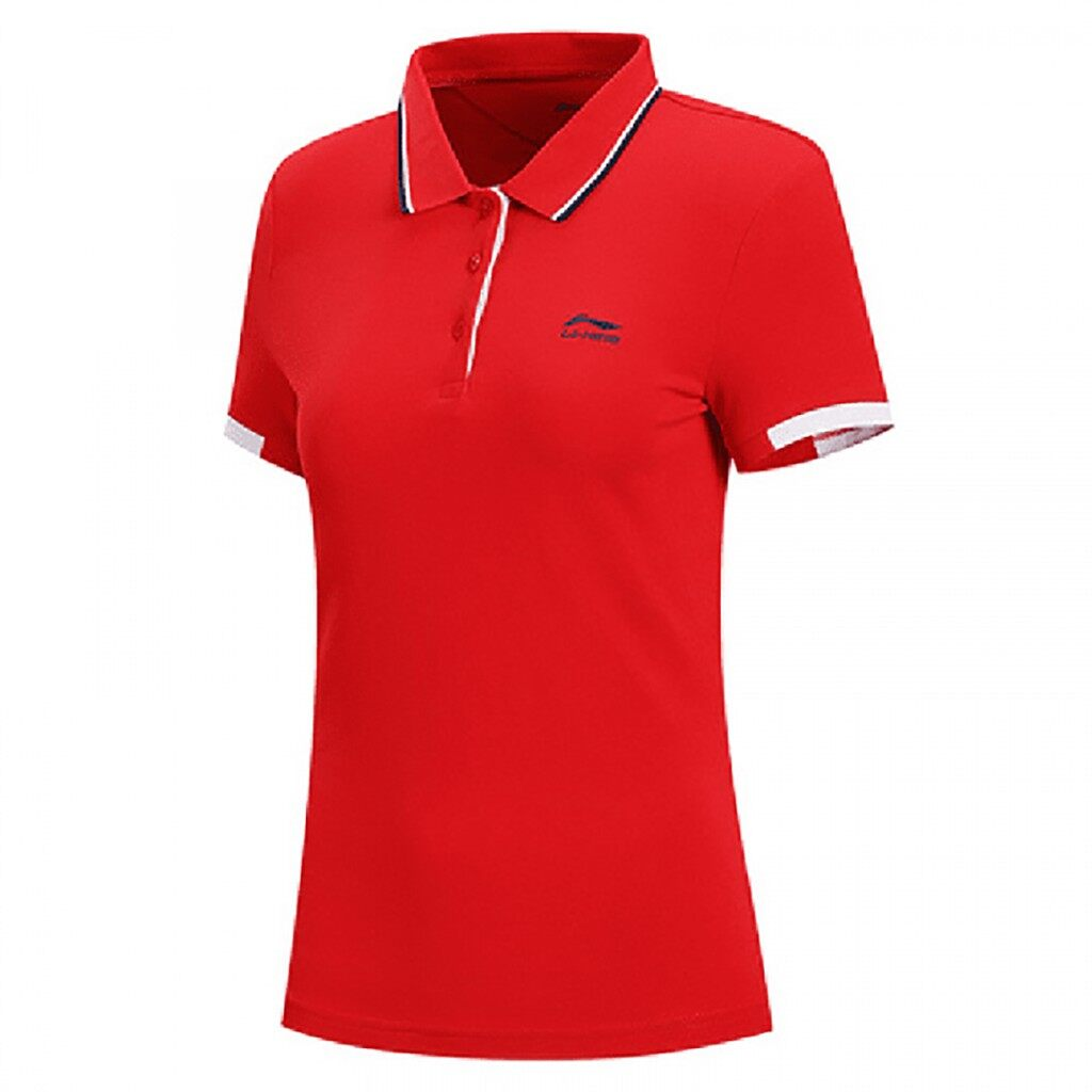 LI-NING Sports Fashion Series Women's Short Sleeve Polo APLN134