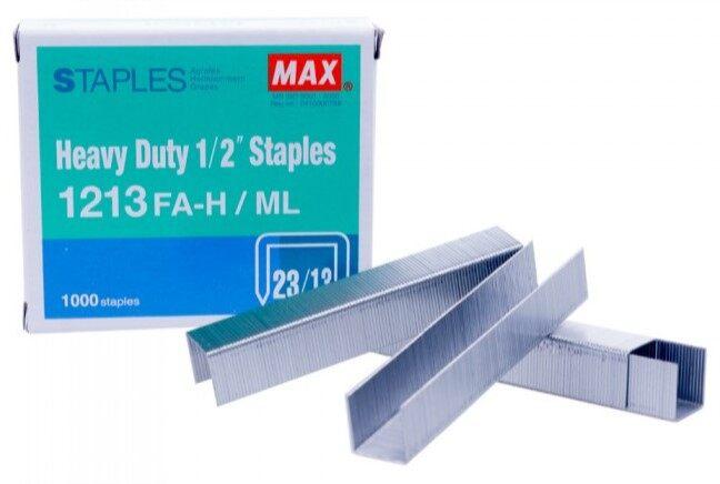 MAX Staples 1213 FAH (Stapler Bullet)