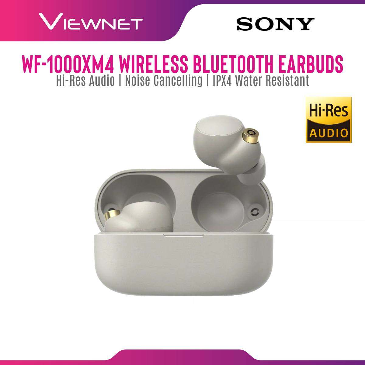 [PRE-ORDER] [NEW LAUNCH] Sony WF-1000XM4 / WF1000XM4 XM4 Wireless Bluetooth Noise Cancelling In Ear Earbuds with Charging Case, IPX4 Water Resistance (ETA: 2021-08-20)