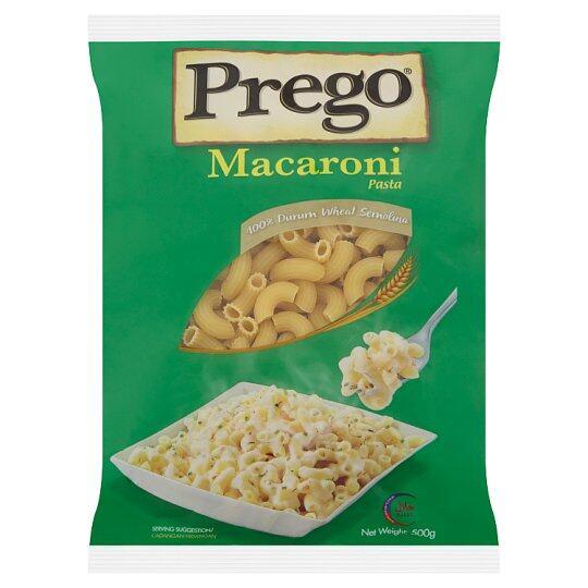PREGO MACARONI PASTA 500G